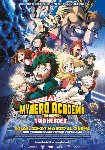 MY HERO ACADEMIA – THE MOVIE: TWO HEROES